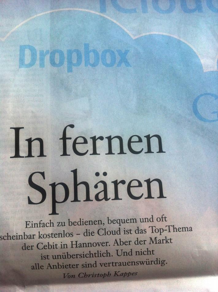 """In fernen Sphären"""