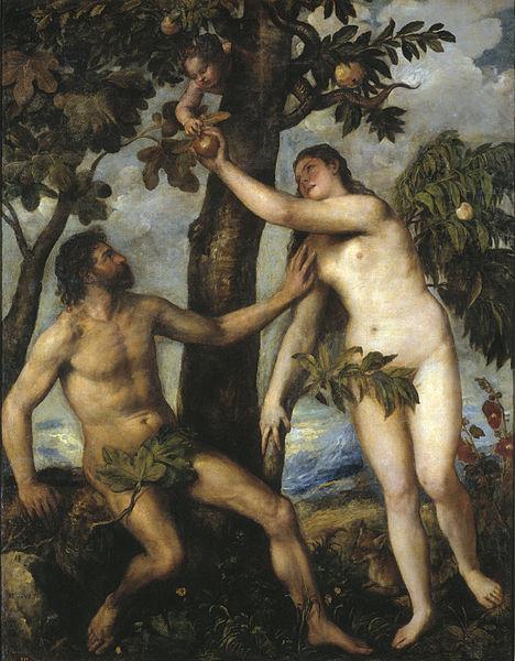 Sündenfall, Tizian
