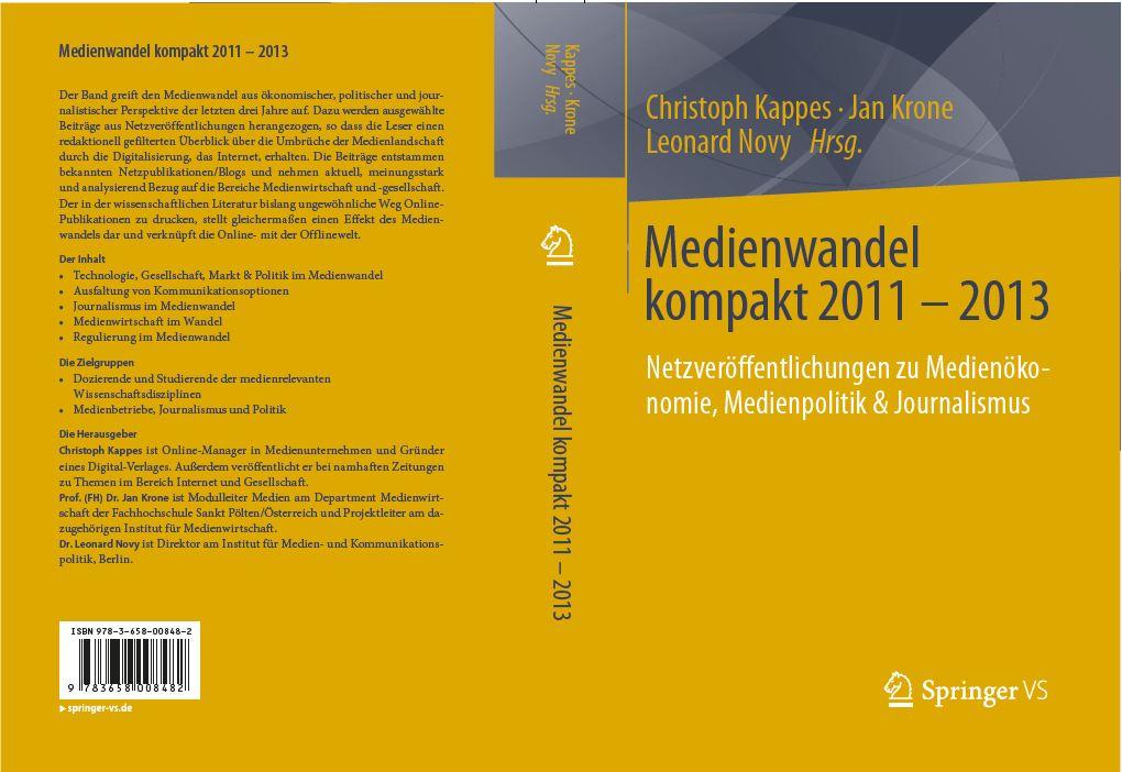 Medienwandel kompakt (Umschlag)